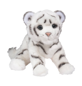 Douglas Toys Silky White Tiger Cub