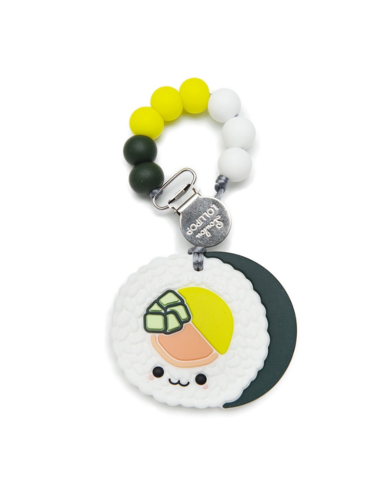 Loulou Lollipop Silicone Sushi Roll Teether