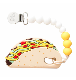 Loulou Lollipop Silicone Taco Teether