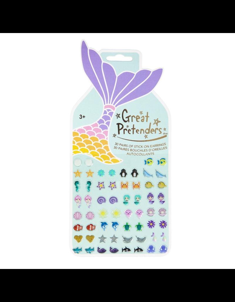 Great Pretenders Mermaid Sticker Earrings