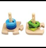 Hape Toys Creative Peg Puzzle