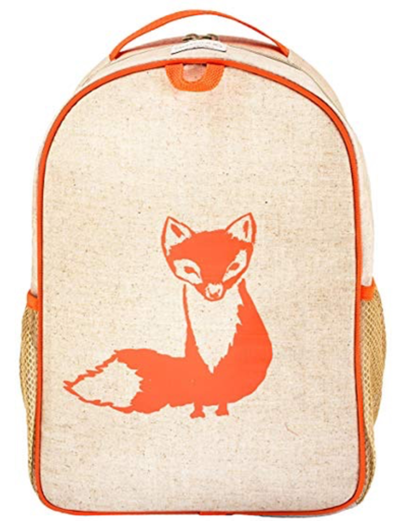 So Young Orange Fox Backpack