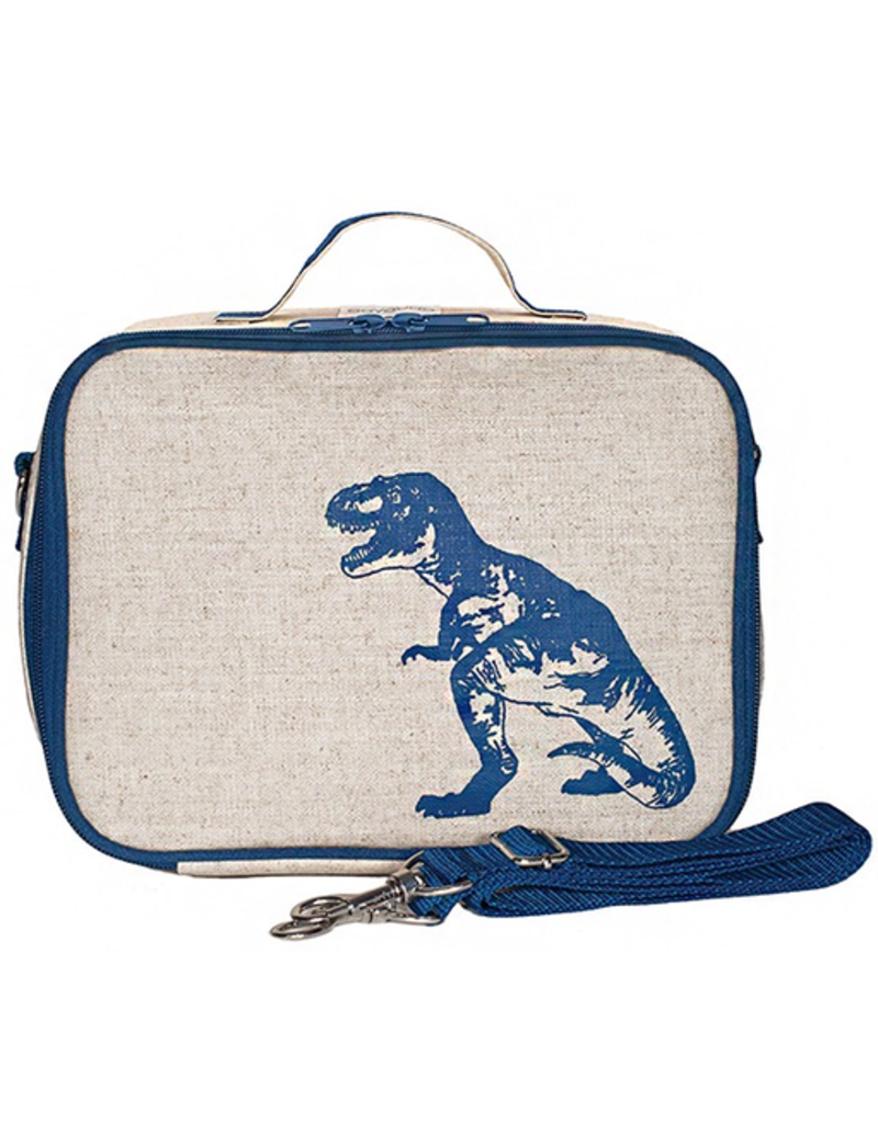 So Young Blue Dino Lunchbox