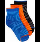 Toby Tonal Quarter Socks 3pk