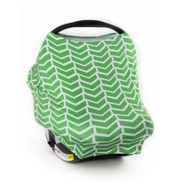 Carseat Canopy Stretch Cover - Ezra