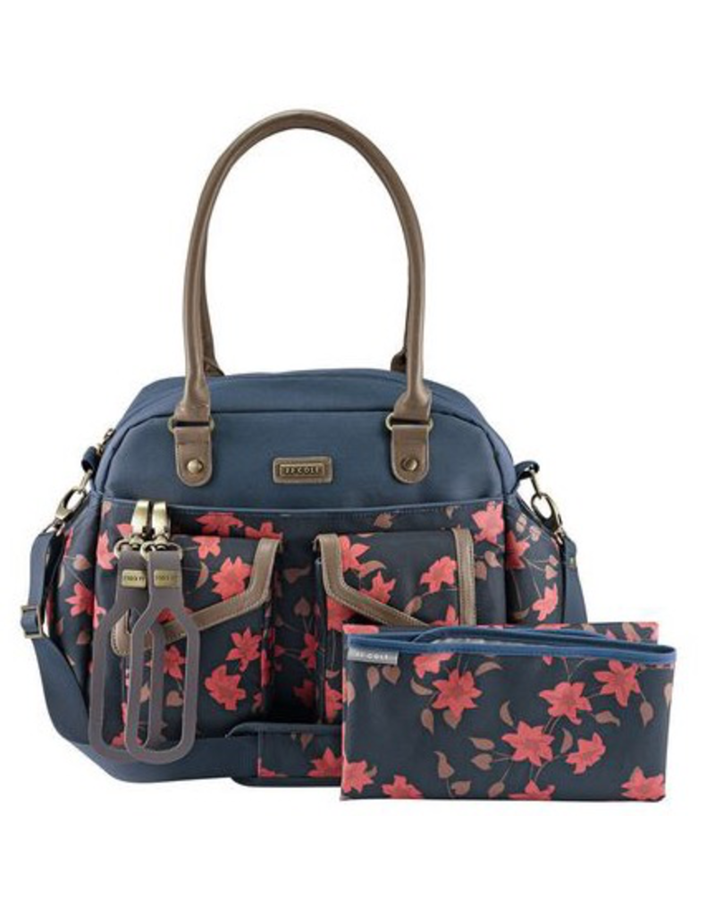 J.J. Cole Carry All - Navy Floral