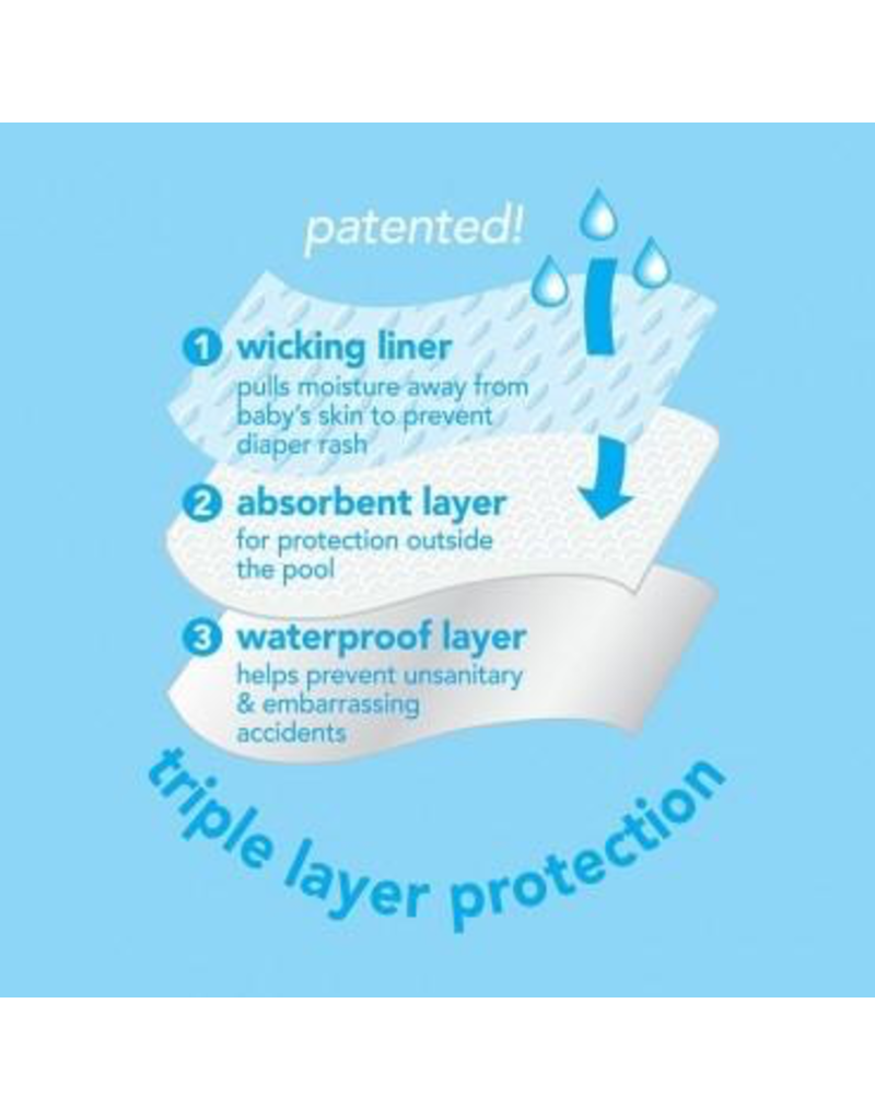 iPlay Navy Swim Diaper
