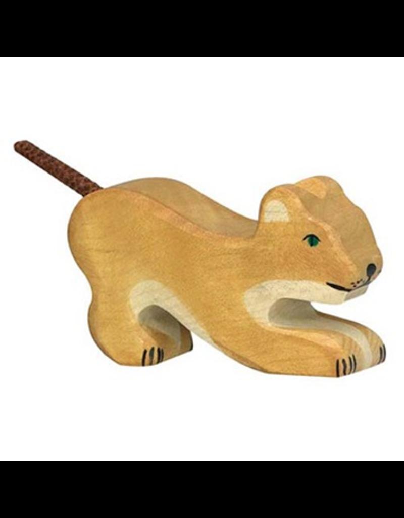 Holztiger Holztiger Lion, small, playing