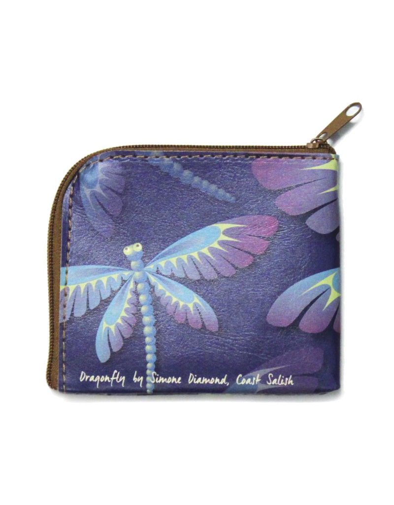 Native Northwest Dragonfly Coin Purse