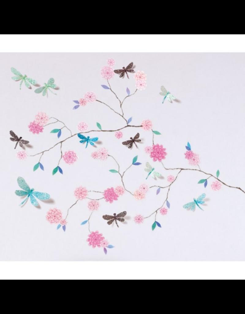 Djeco 3D Stickers - Dragonflies Tree