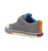 See Kai Run Youth Stevie II Sneakers Grey w/Orange
