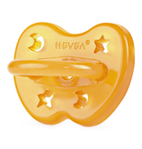 Hevea Natural Rubber Pacifier 0-3m - Star & Moon Orthodontic