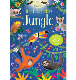 Usborne Little First Stickers: Jungle