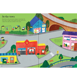 Usborne Little First Stickers: Tractors And Trucks