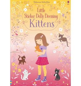 Usborne Little Sticker Dolly Dressing Kittens