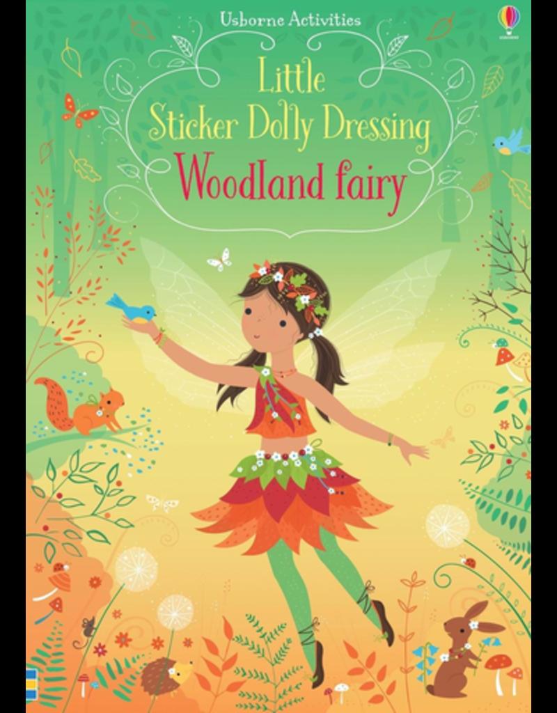 Usborne Sticker Dolly Dressing: Woodland Fairy