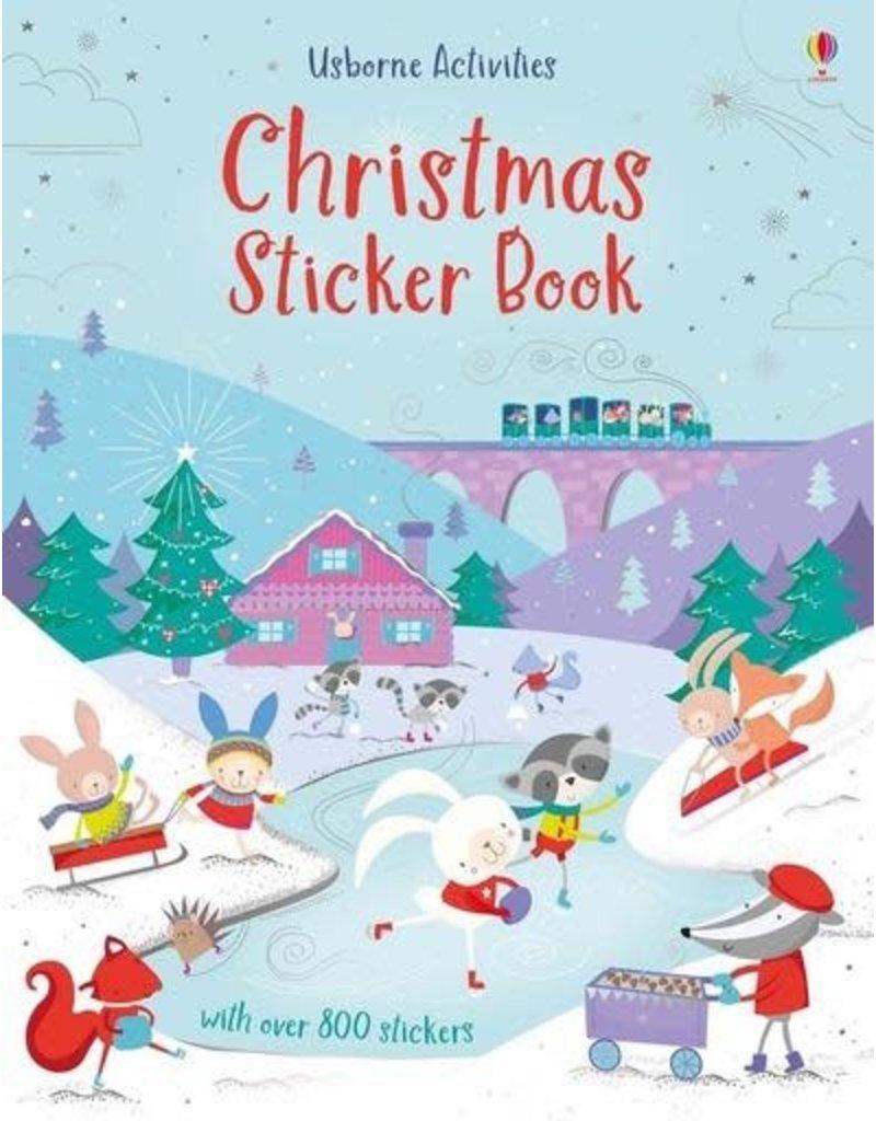 Usborne Christmas Sticker Book