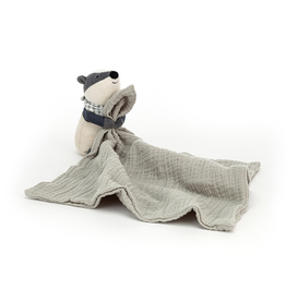 Jellycat Little Rambler Badger Soother