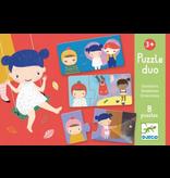 Djeco Puzzle Duo - Emotions