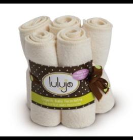 Lulujo Organic Face Cloth 4pk