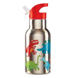 Crocodile Creek Stainless Bottle - Dinosaur