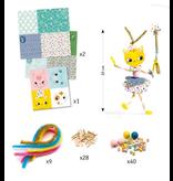 Djeco DIY Threading - My Fairies 3-6y