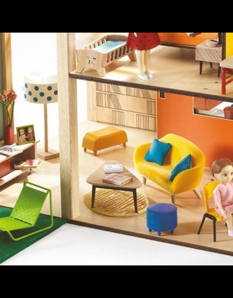 Djeco The Orange Living Room