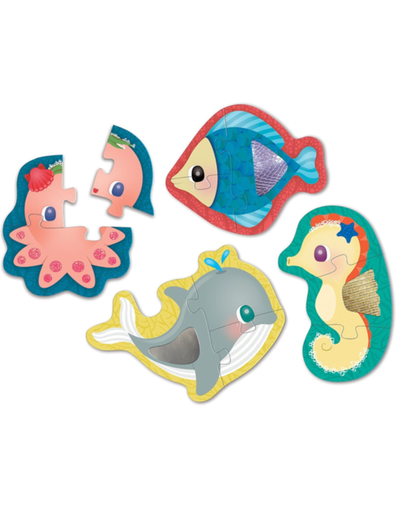 Mudpuppy Touch & Feel Puzzle Under The Sea