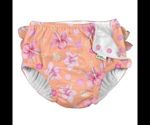Iplay Ruffle Hibiscus Swim Diaper