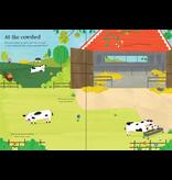 Usborne Little First Stickers: Farm