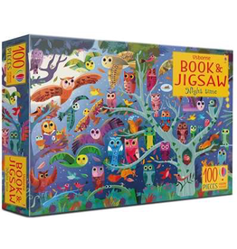 Usborne Picture Book & Jigsaw Night Time