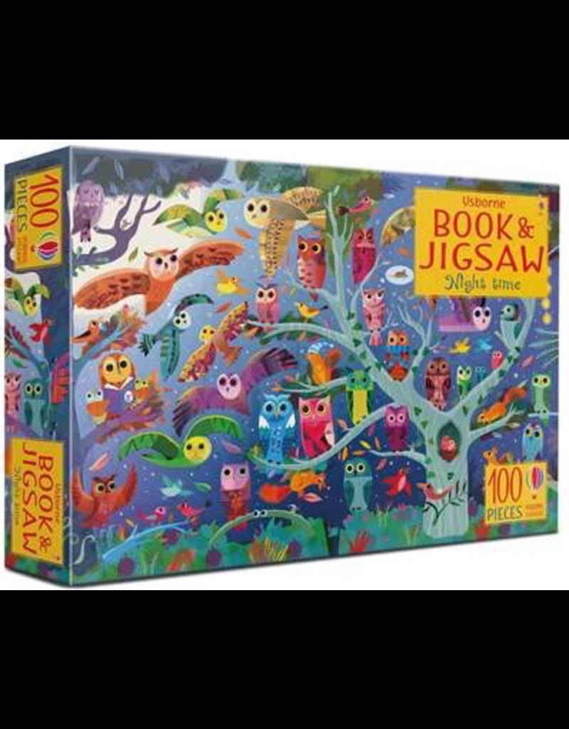 Usborne Picture Book & Jigsaw Night Time