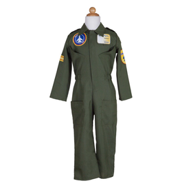 Great Pretenders Pilot Jumpsuit Set (Helmet & ID Badge) 5-6Y