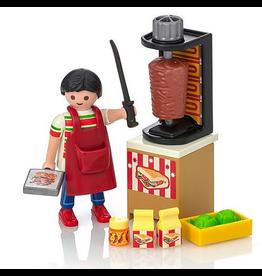 Playmobil Kebab Vendor