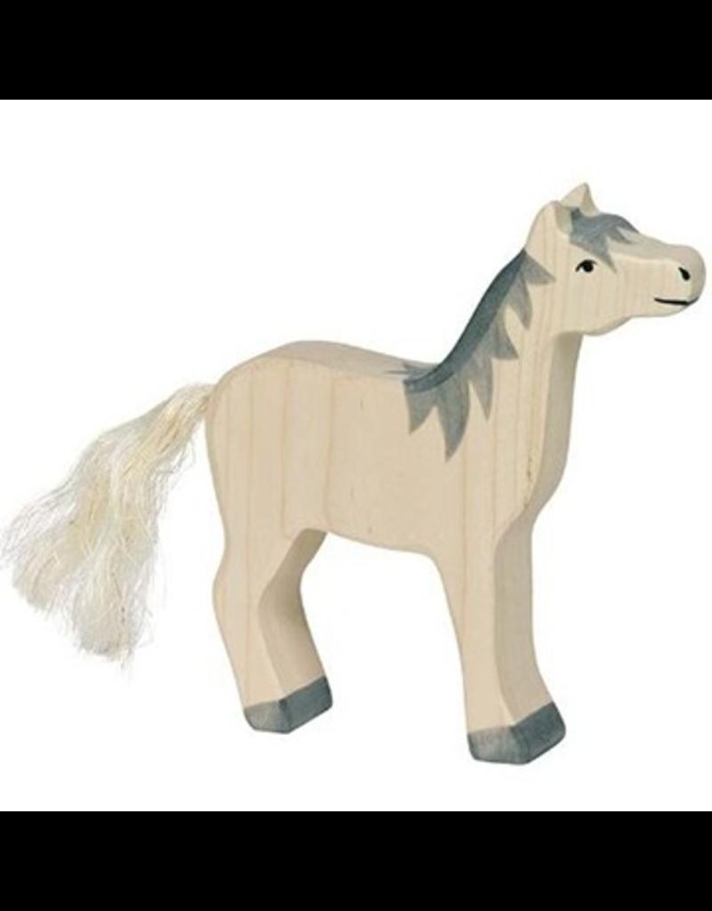 Holztiger Holztiger Horse, head raised, grey