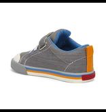 See Kai Run Stevie II Sneakers Grey w/Orange