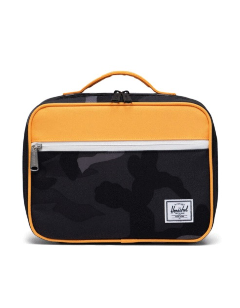 Herschel Pop Quiz Lunch Box Night Camo/Blazing Orange