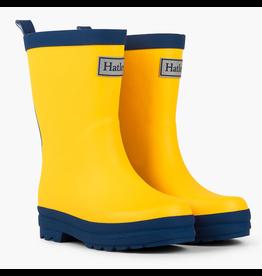 Hatley Yellow & Navy Rain Boots