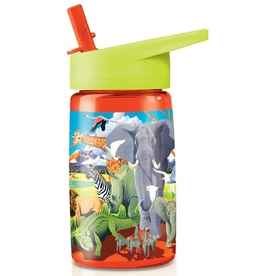 Crocodile Creek Tritan Water Bottle - Wild Safari