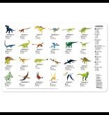 Crocodile Creek Placemat - Dinosaur World