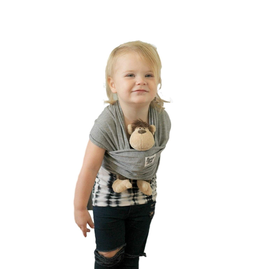 Beluga Baby Beluga Baby Doll Carrier, Mckenzie (Grey)