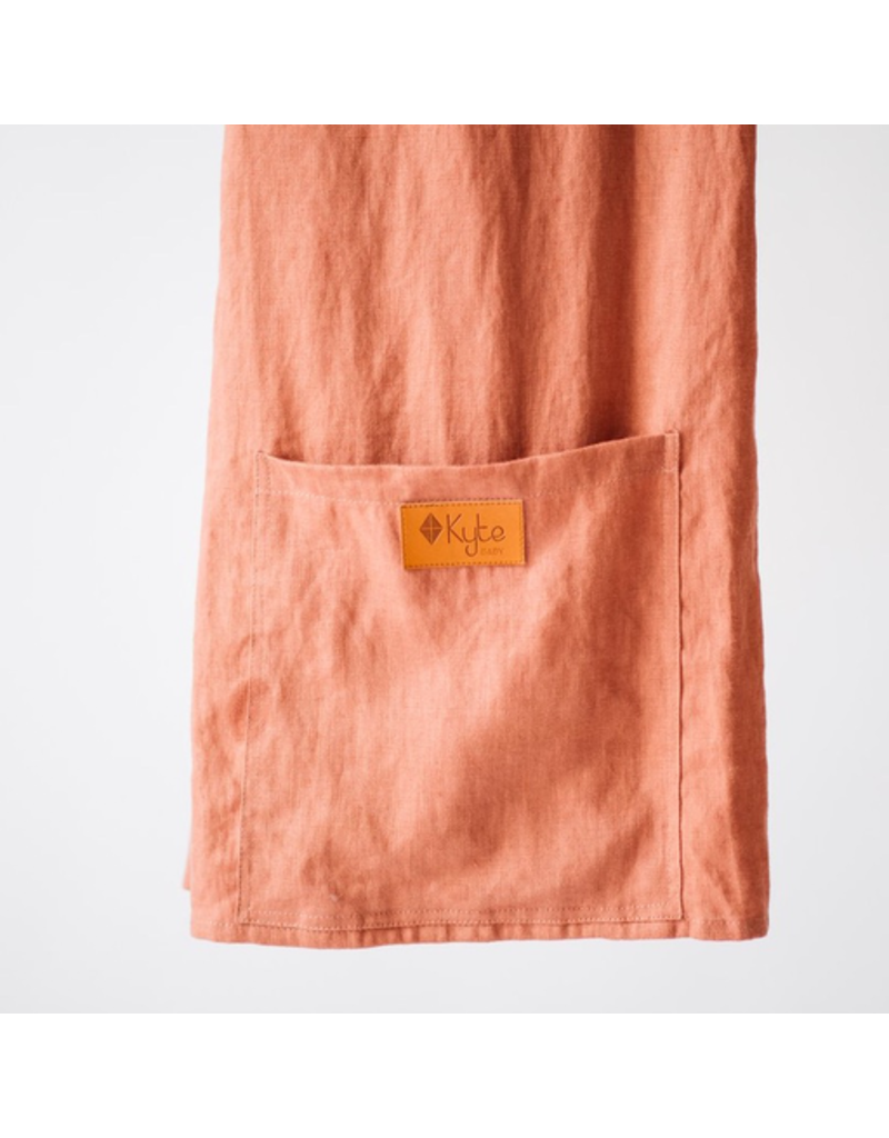 Kyte Baby Linen Ring Sling, Red Wood