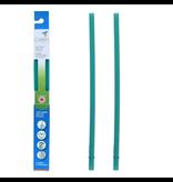 Silicone Straws 2pk, Teal