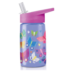 Crocodile Creek Tritan Water Bottle - Butterfly Dreams