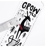 Wee Gallery Organic Canvas Growth Chart - Woodlands
