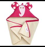 3 Sprouts Hooded Towel Elfie Pink