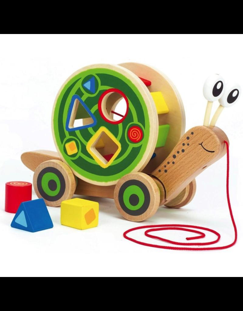 Hape Toys Walk-A-Long Snail
