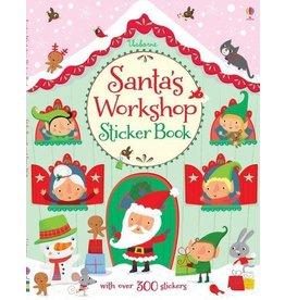 Usborne Santa's Workshop Sticker Book