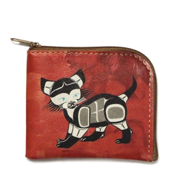 Native Northwest Cat Coin Purse