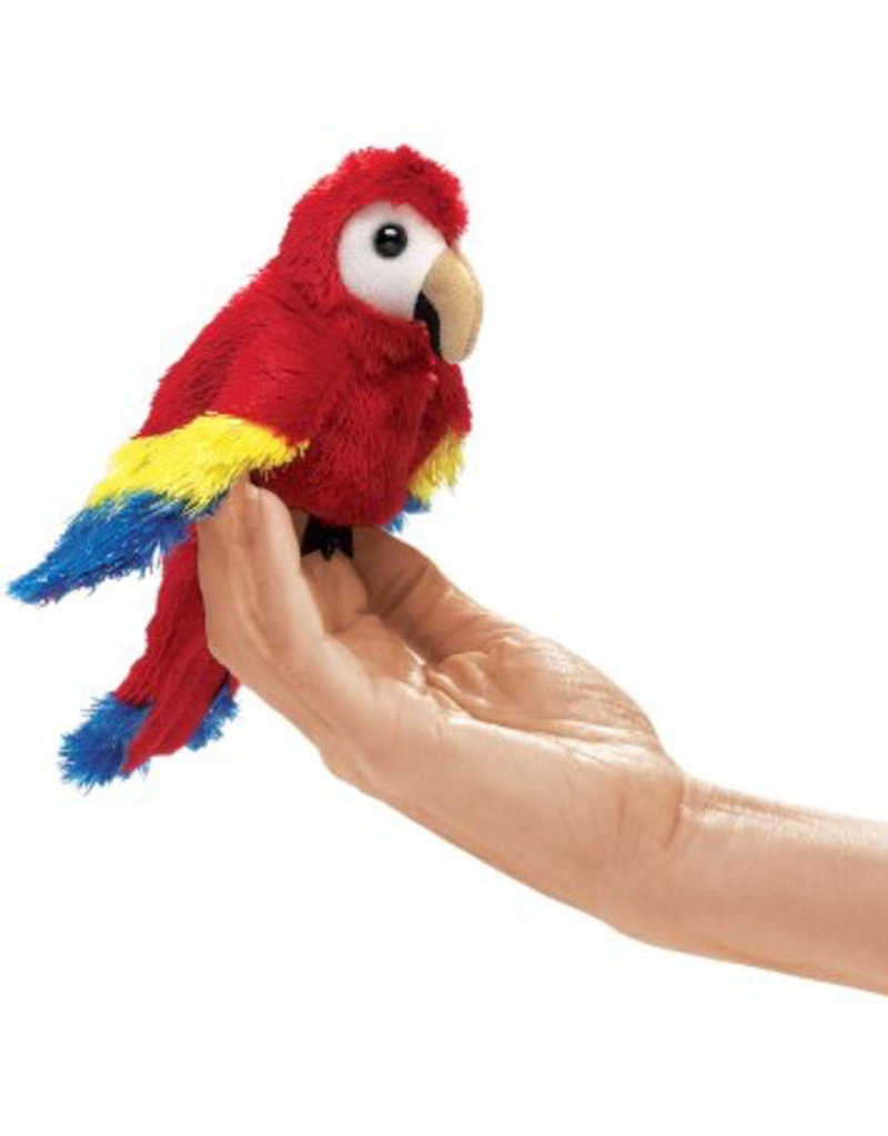Folkmanis Finger Puppet - Macaw